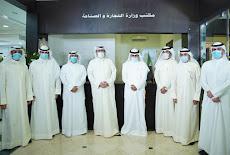الروضان يتفقد مركز خدمة لمراجعي وزارة التجارة في جمعية المحامين الكويتية26/10/2020