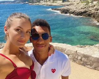 Felix Auger Aliassime Wished By Girlfriend Nina Ghaibi For His Th Birthday