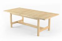 Klasik ahşap tahta masif masa