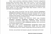 Menpan - RB Keluarkan Surat Pantau Larangan Mudik Cegah Covid - 19