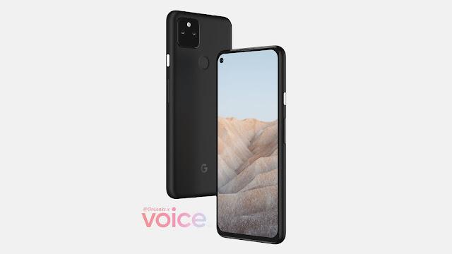 Google Pixel 5a leak shows a familiar design.