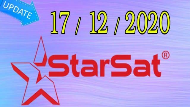جديد تحديثات الموقع الرسمي لأجهزة ستارسات STARSAT  يوم 20201217