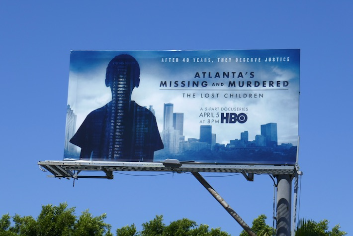 Atlanta Missing Murdered Lost Children billboard
