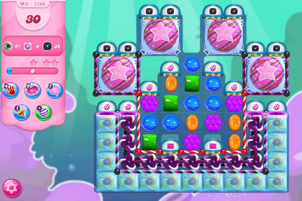 Candy Crush Saga level 7795