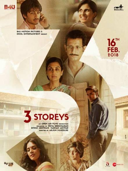 3 Storeys new upcoming movie first look, Poster of Pulkit Samrat, Richa Chadha, Sharman Joshi next movie download first look Poster, release date