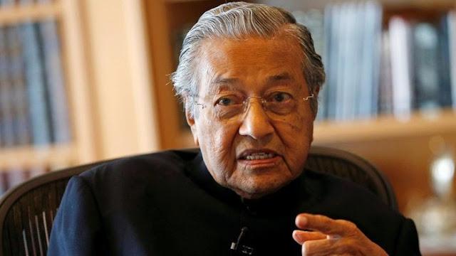 PM Malaysia Mahathir Mohammad Resmi Mengundurkan Diri