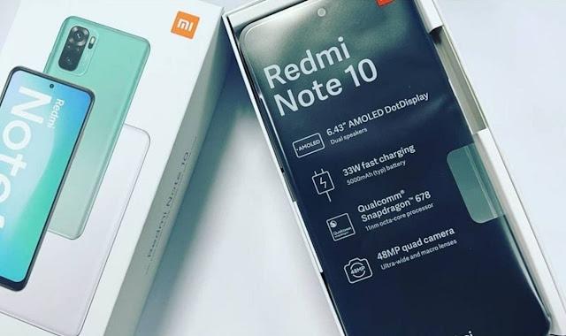 Xiaomi Redmi Note 10 : Prix europe France / Fiche Technique & Caractéristique / Commande en ligne