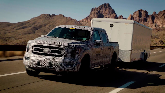 2021 - Ford F-150 with Ford 3.5-liter PowerBoost™ engine.