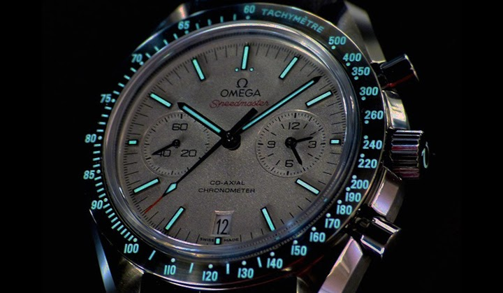 Omega Speedmaster Quot Grey Side Of The Moon Quot Time And
