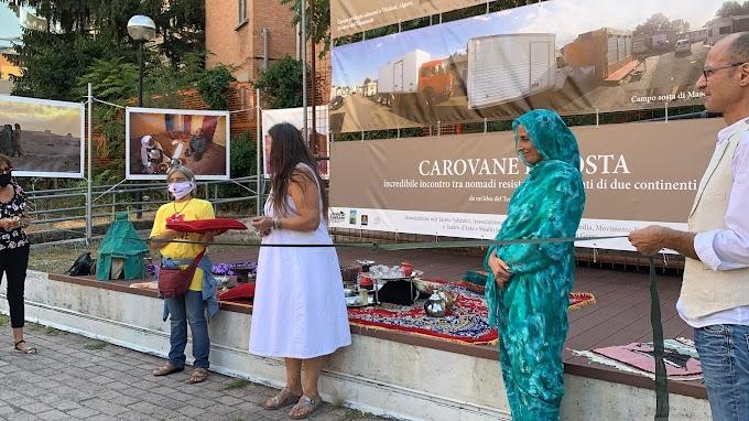 حركة التضامن الإيطالية مع الشعب الصحراوي تستأنف أنشطتها التحسيسية بالقضية الوطنية في منطقة إيميليا رومانا.