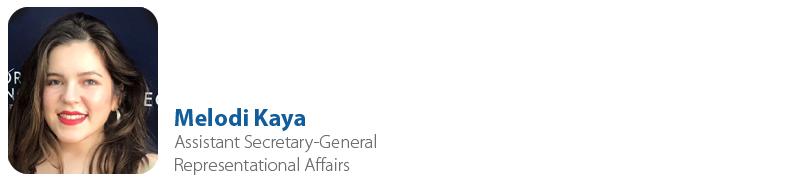 Melodi KAYA, IYF Assistant Secretary-General for Representational Affairs