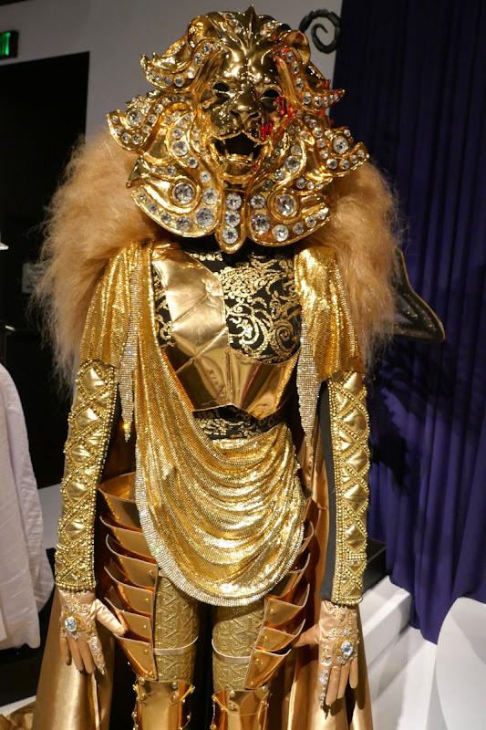 The Masked Singer season 1 Lion costume