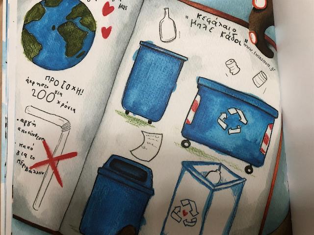 Παιδικό βιβλίο για το περιβάλλον.