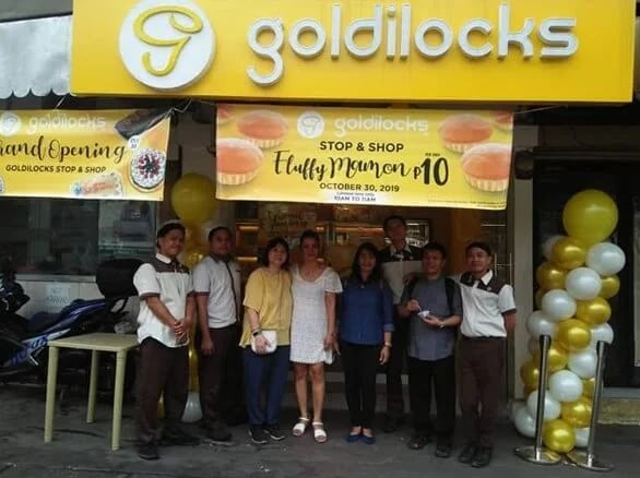 Goldilocks Re-Opens Sta. Mesa Store
