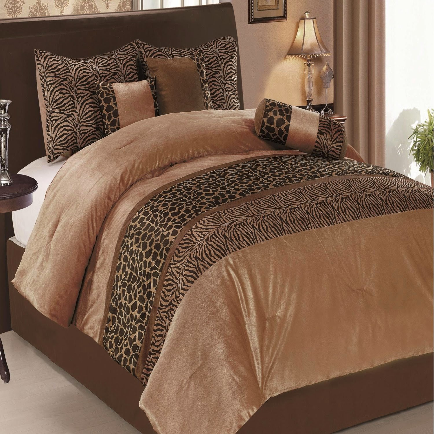 Leopard Print Themed Bedroom: Bedroom Decor Ideas And Designs: Top Ten Animal Pattern
