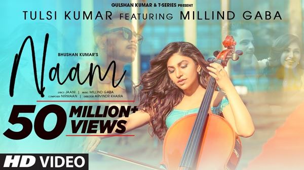 NAAM LYRICS - TULSI KUMAR Ft MILLIND GABA - New Romantic Song