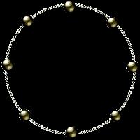 Moldura esfera metal png