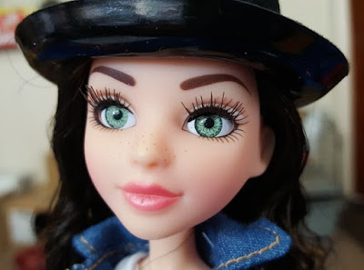 Face close up project MC2 McKayla doll