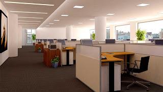 ديكورات غرف مكتب