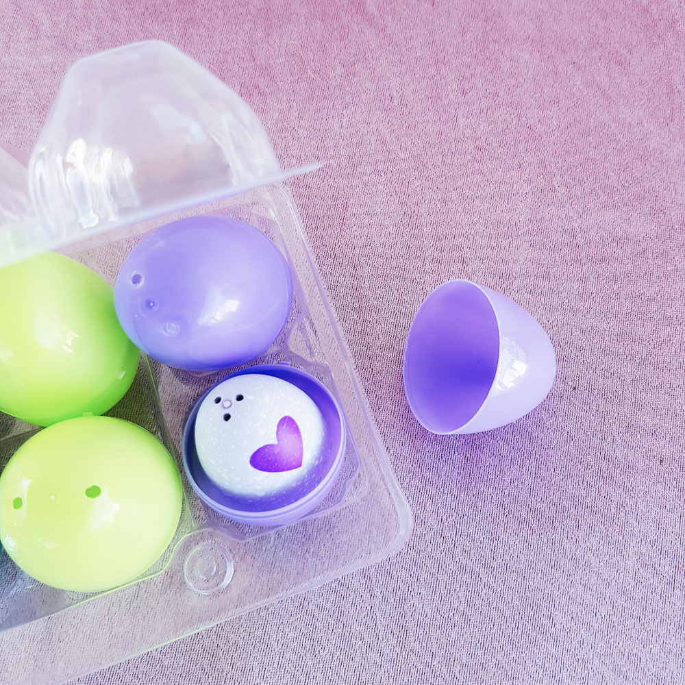 Make collectable toy surprise easter egg gifts for the kids now once you have your toys inside decorate with ribbon or add to your childs carton of chocolate easter eggs negle Images