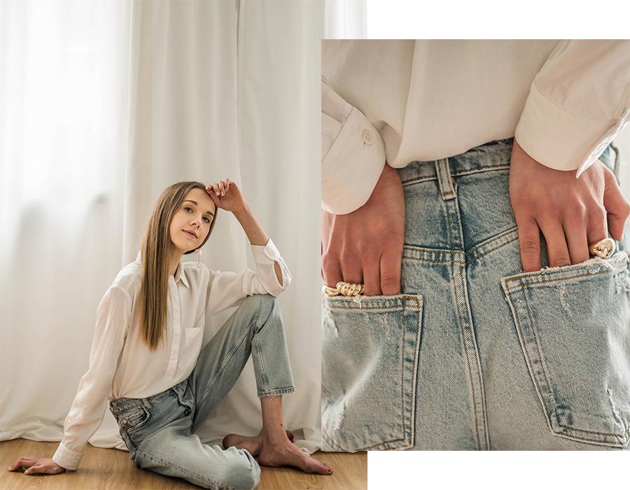 Kevään farkkumuoti // Spring denim fashion