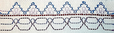 Swedish weaving sample Step 6