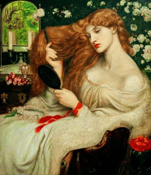 Lady Lilith, Dante Gabriel Rossetti, Elizabeth Siddal
