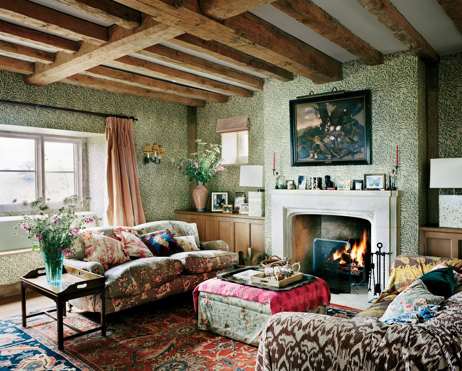 Décor Inspiration: Plum Syke's English Countryside Cottage