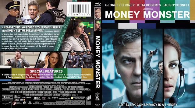 Money Monster Bluray Cover