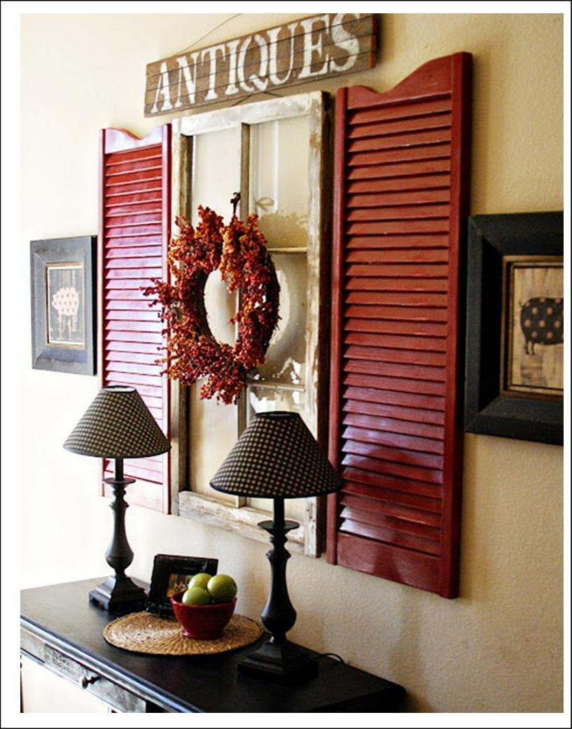 It\'s Written on the Wall: Old Windows: Use Them In So Many Ways as Decor