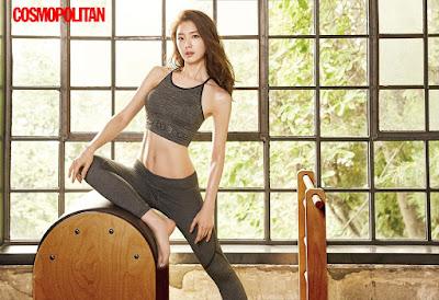 Seo Ji Hye Cosmopolitan June 2017
