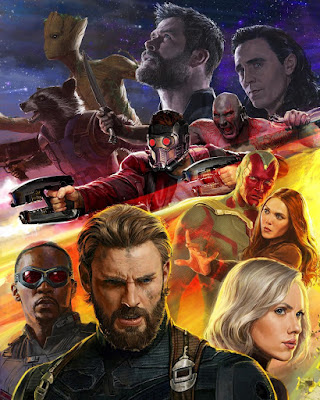 San Diego Comic-Con 2017 Exclusive Avengers Infinity War Concept Art Movie Poster #3 by Ryan Meinerding