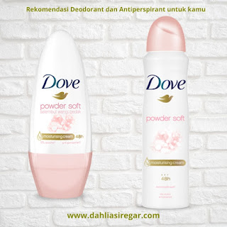 Dove deodorant antiperspirant