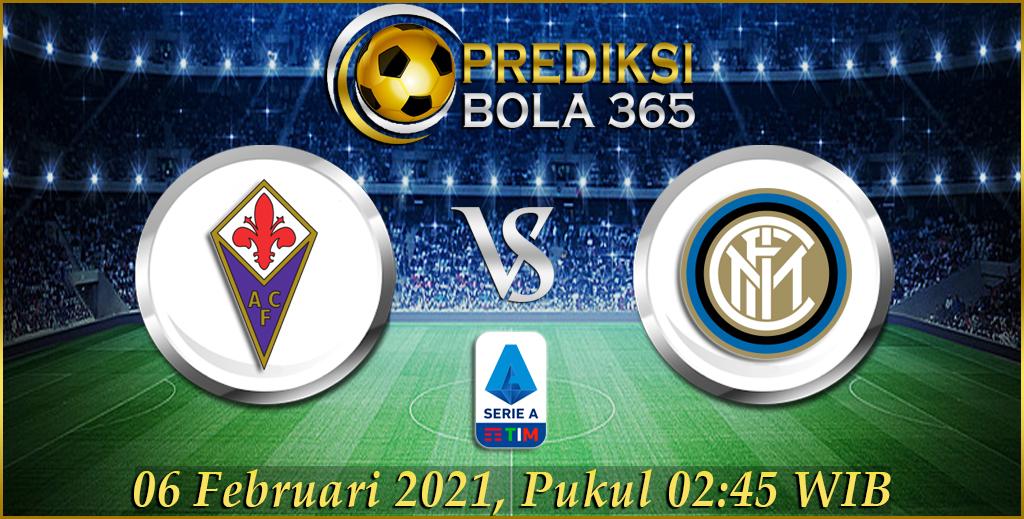 Prediksi Bola Fiorentina Vs Inter Milan Liga Italia Serie A 06 Februari 2021