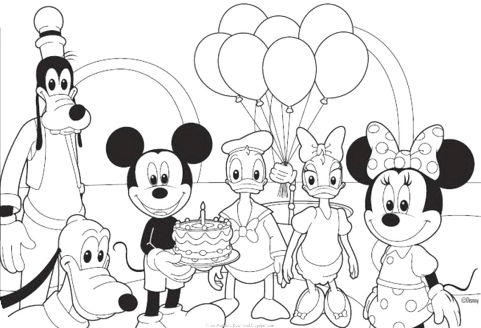 Micky Maus Ausmalbilder Kostenlos : Nett Malvorlagen Zum Ausmalen Micky Maus Zeitgen Ssisch