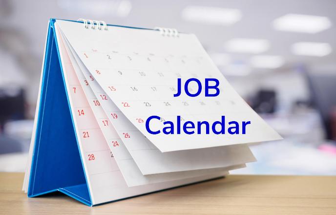 Exam calendar - Schedule