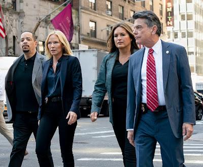 Cena do 1º episódio da 21ª temporada de Law & Order: SVU (Divulgação: Universal TV)