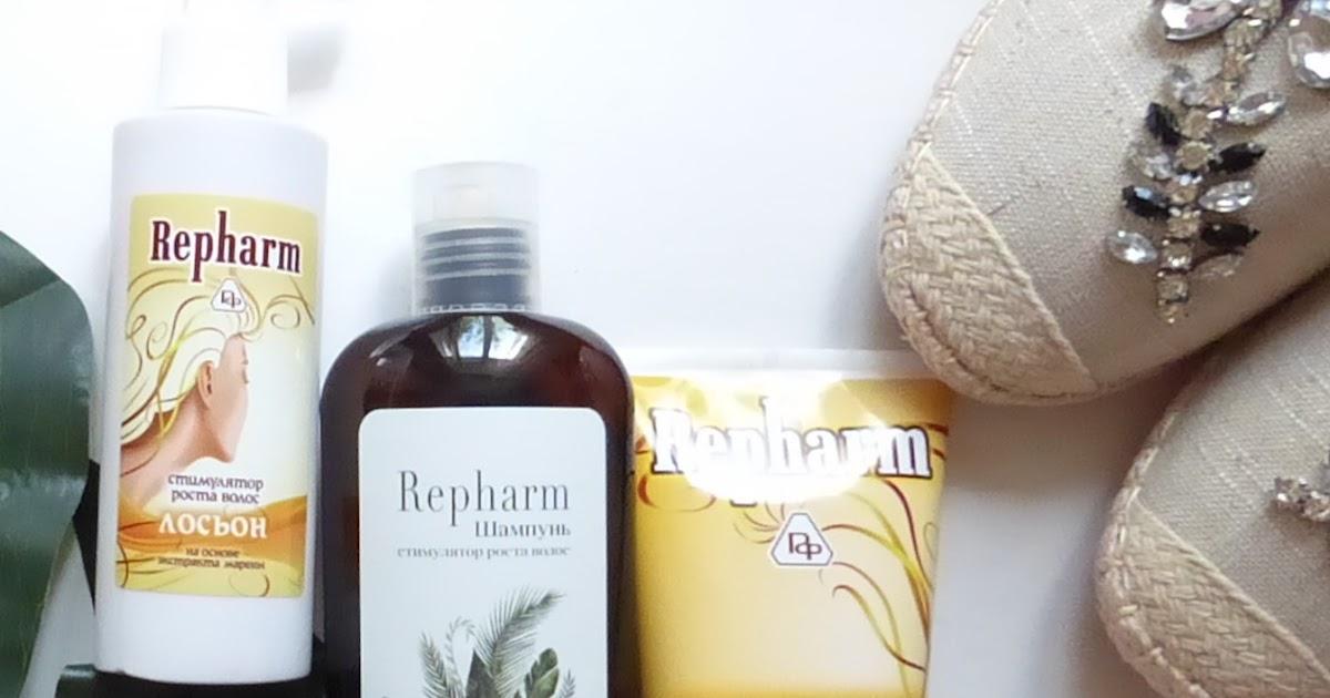 Repharm: Шампунь-стимулятор роста <b>волос</b>, Гель-стимулятор ...