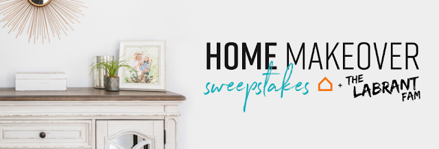 Ashley HomeStore wants you to have your dream home! Just enter once for the chance to have a total home makeover just like they did for the Labrant Family!