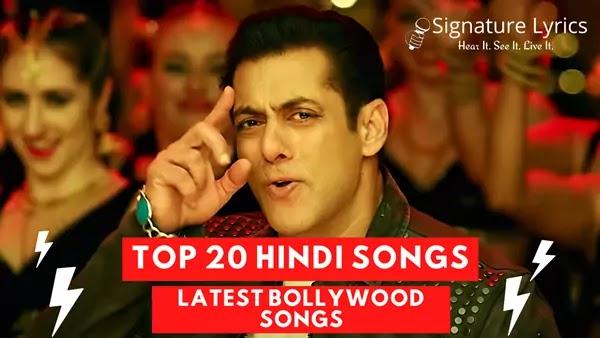 Top 20 Hindi Songs of Week | Latest Bollywood Songs