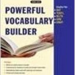 Powerful Vocabulary Builder by Anjana Agarwal (New Age