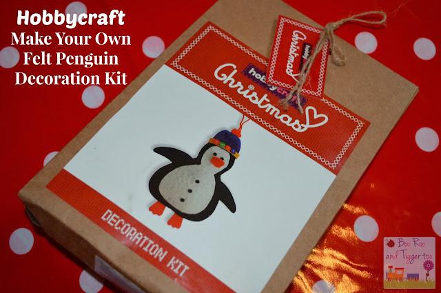 Review Hobbycraft Make Your Own Felt Penguin Decoration