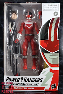 Power Rangers Lightning Collection Time Force Red Ranger Box 01