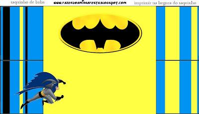 Batman Kit Completo Com Molduras Para Convites Rotulos Para