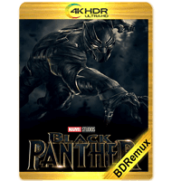 PANTERA NEGRA (2018) BDREMUX 2160P HDR MKV ESPAÑOL LATINO