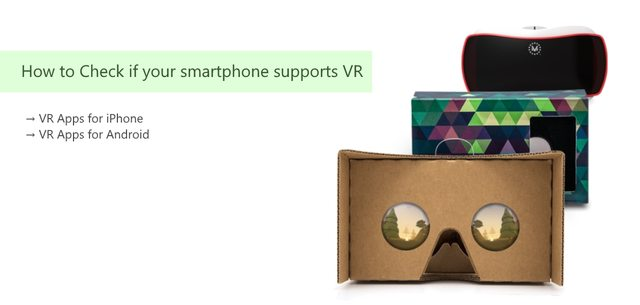 How to Check if your Smartphone Supports VR
