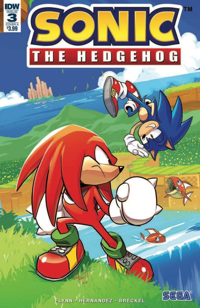 Hedgehogs Can T Swim Sonic The Hedgehog Idw Issue 3