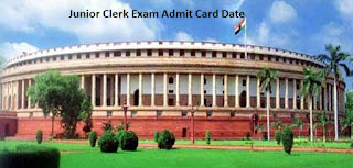 Lok Sabha Junior Clerk Admit Card