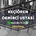 Ankara Keçiören Demirci Merdiven Demiri - Ferforje Demir - Balkon Demiri - Bahçe Demiri