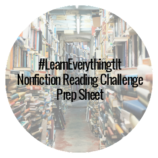 #LearnEverything Nonfiction Reading Challenge Prep Sheet
